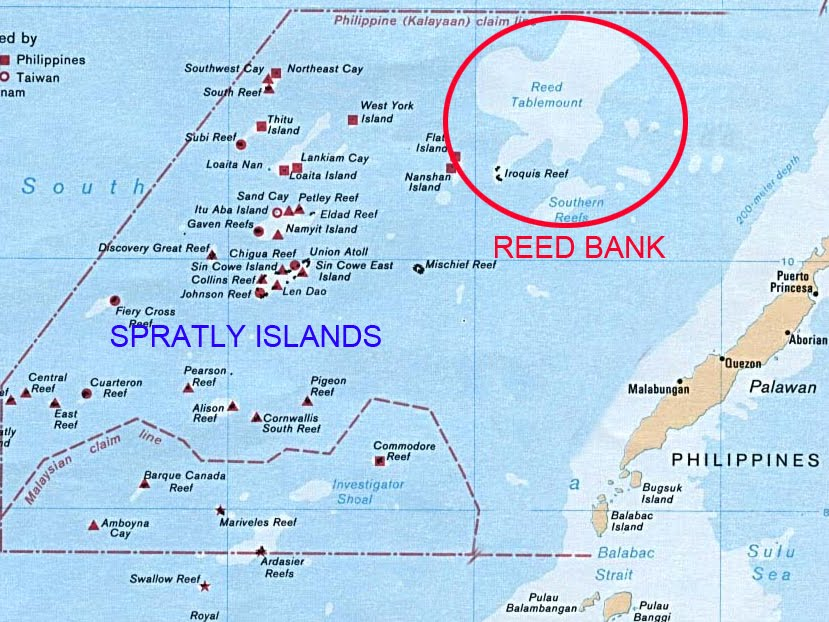 Spratly Islands Map Pdf