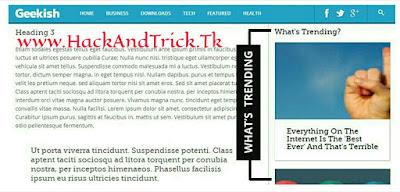 Geekish-blogspot-template-HackAndTrick.Tk