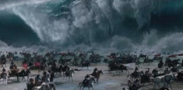 Gambar Bukti Nabi Musa Membelah Laut