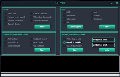 GST Tool V1.0 Ultimate FRP Unlocker Free Download