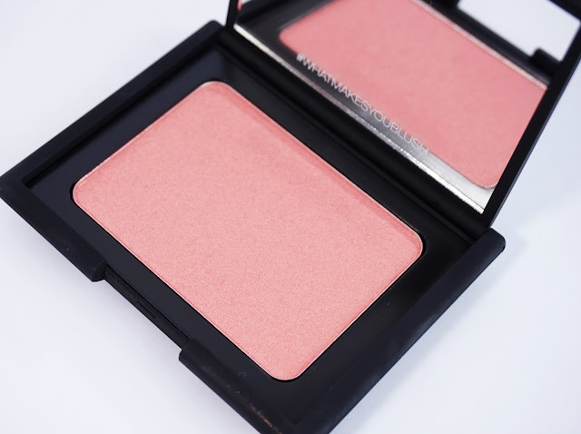 NARS Cosmetics - Blush (Orgasm) Limited Edition, Look, Pfirsich, Goldschimmer