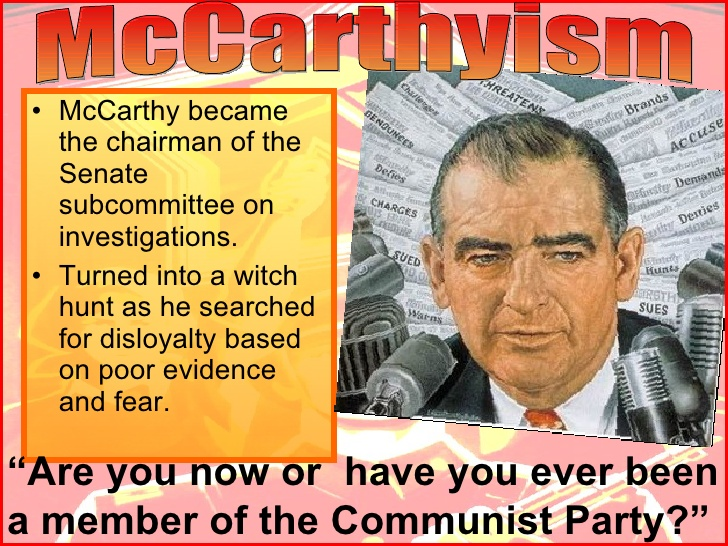 essays on mccarthyism