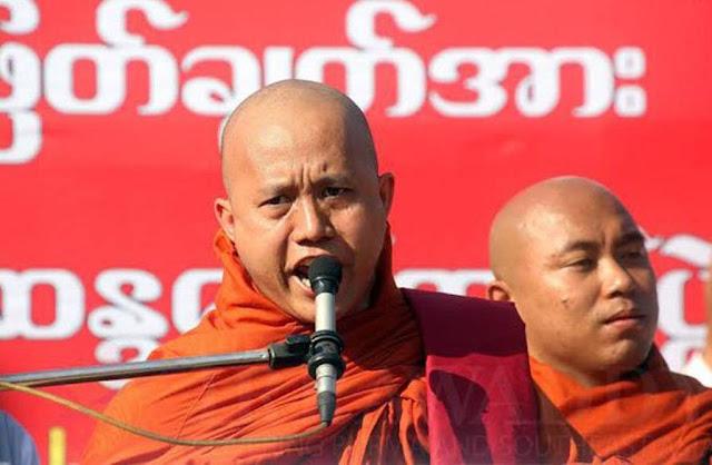 Arogan, Wirathu: Tak Usah Takut PBB Untuk Gempur Rakhine