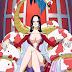 Chuyện tình nữ hoàng hải tặc Boa Hancock với Luffy mũ rơm