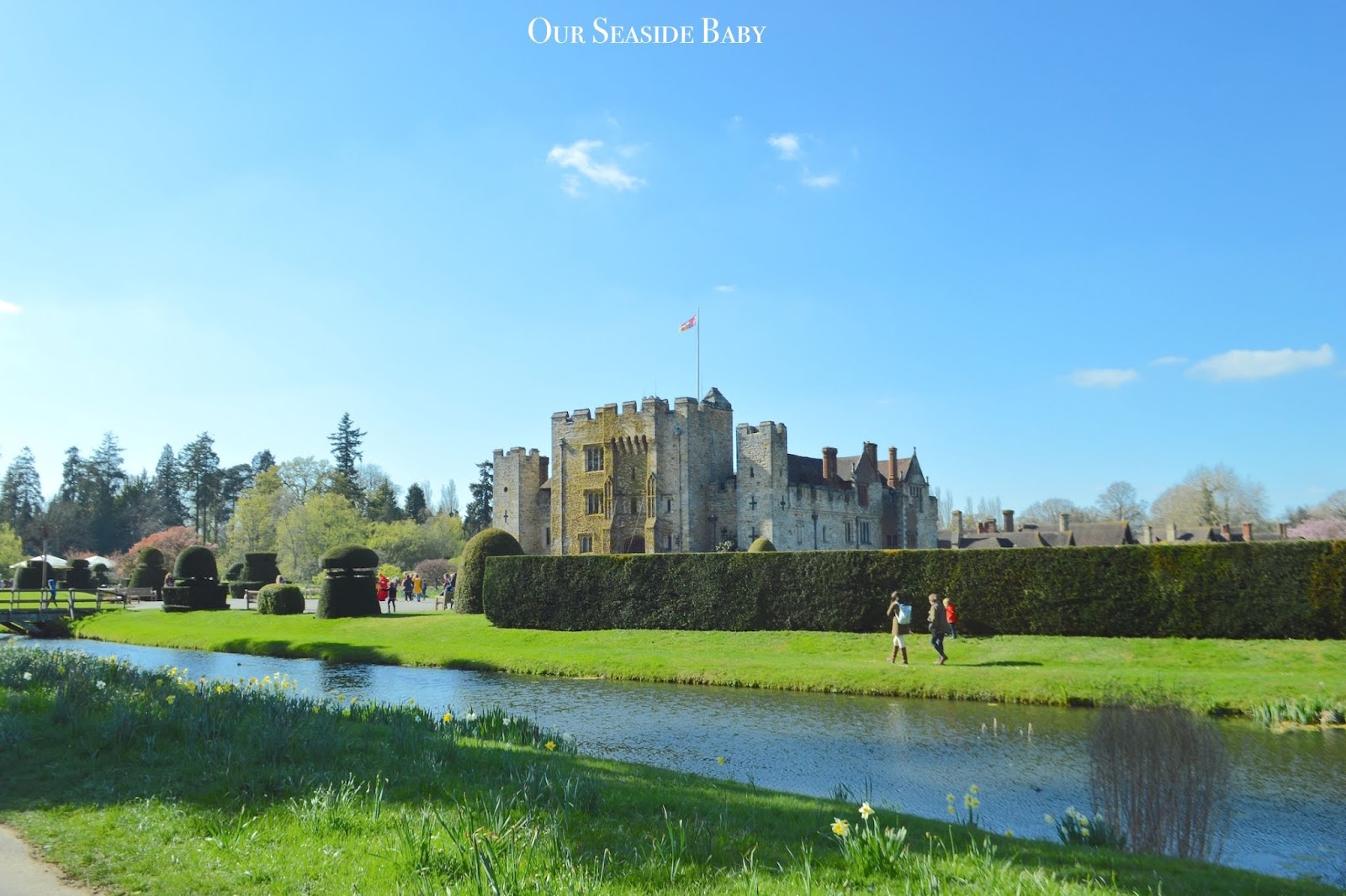 A family day out at Hever Castle & Gardens