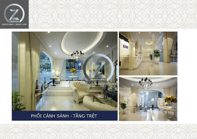 thiet ke clinic spa