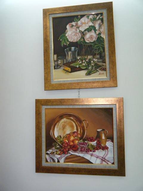 Les peintures de mes élèves à l'expo 11