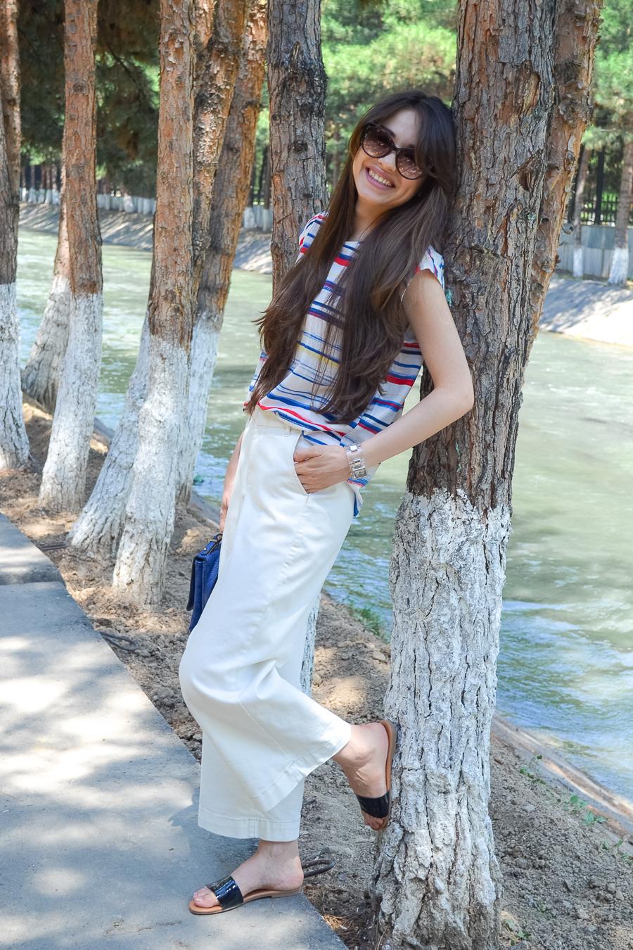 fashionblogger-diyorasnotes-style-white-culottes-zara-stripes-top-mango