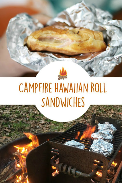 Campfire Hawaiian Roll Sandwiches via @labride