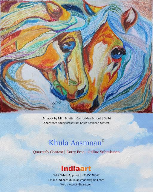 Khula Aasmaan shortlist - Mini Bhatia of Cambridge School, Delhi