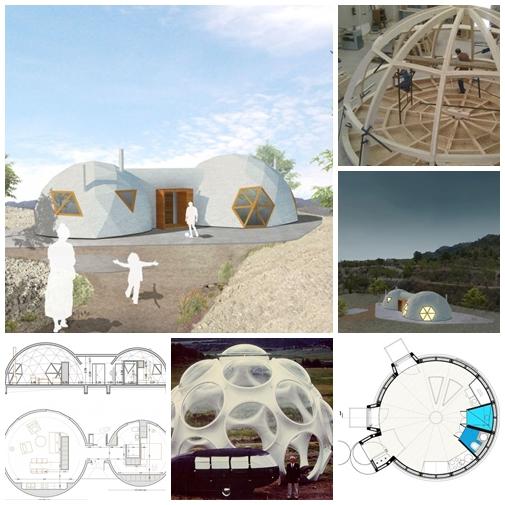 Apuntes revista digital de arquitectura casas - Casas geodesicas ...