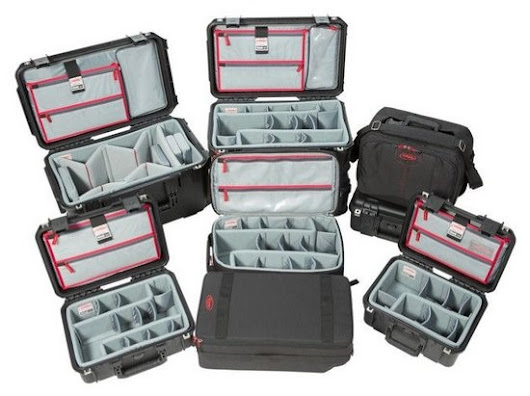 Think Tank Photo: SKB hard cases with Think Tank interiors!