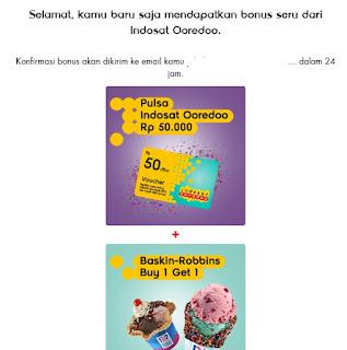 Bisa Dapat Pulsa Indosat Im3 dan Mentari Gratis dari Indosat Ooredoo