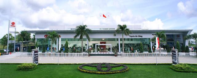 Showroom Toyota Hà Đông
