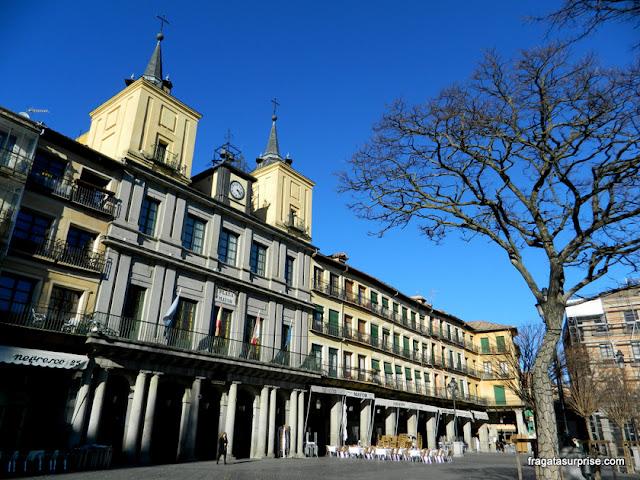 Ayuntamiento, sede da Prefeitura de Segóvia, Espanha