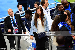 Samuel Umtiti's Rumored Girlfriend Alexandra Dulauroy