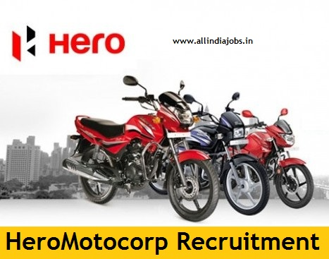 Hero Motocorp Recruitment 2018-2019 Job Openings For