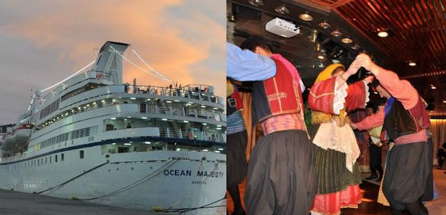 Την ώρα που η χώρα θρηνεί 4 νεκρούς: Το γλέντησαν στο κρουαζιερόπλοιο που αγκυροβόλησε στο Λιμάνι της Χαλκίδας (ΦΩΤΟ)