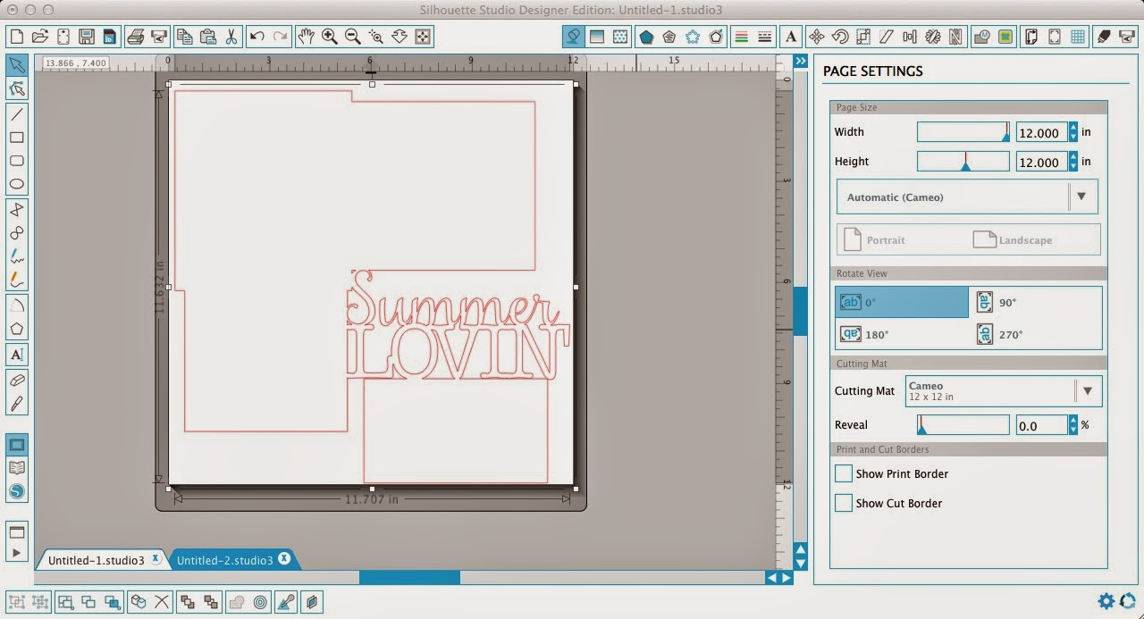 Silhouette Studio, compound path, Silhouette tutorial, weld