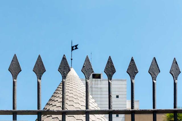 Um château suíço - detalhe