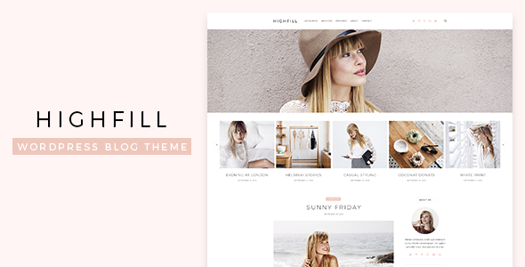 Highfill WordPress Theme Nulled Free Download
