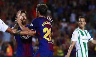 Barcelona vs Real Betis 2-0 Video Gol & Highlights