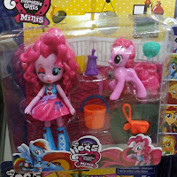 Fake MLP Equestria Girls Minis Pinkie Pie Figure