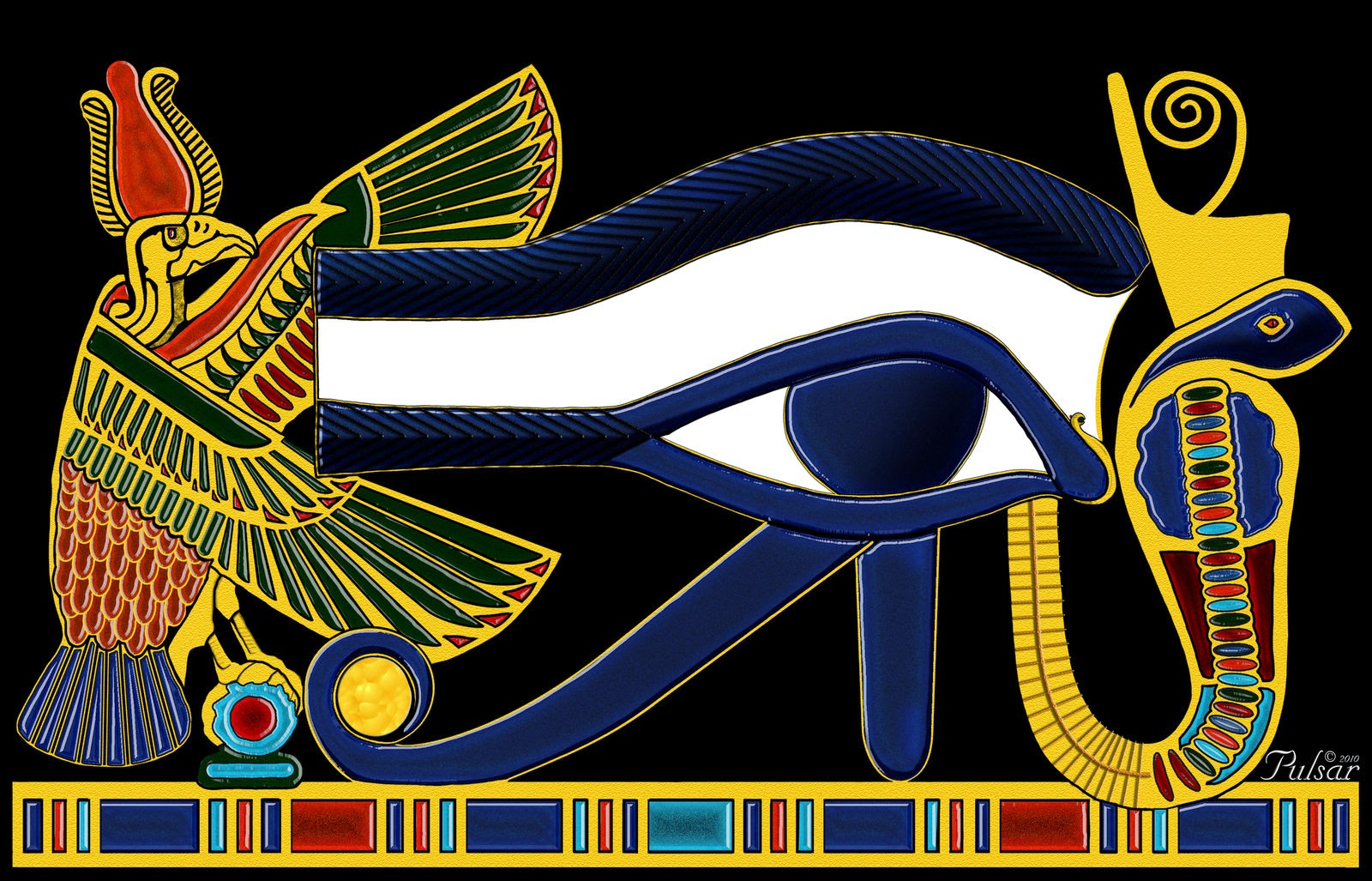 Image result for image of eye of horus