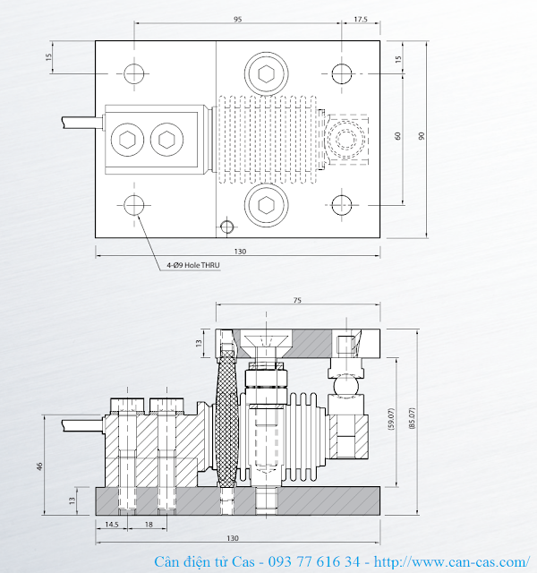 Phụ kiện loadcell HBS