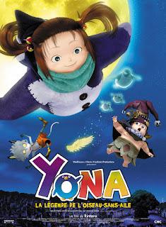 top dessins animés à voir autres que disney film animation enfant famille yona