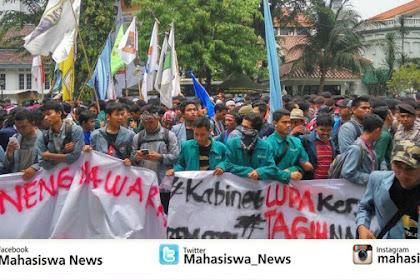 """Dahsyat! Badan Eksekutif Mahasiswa Seluruh Indonesia Gelar Aksi """"Bela Rakyat 121"""" di 19 Tempat di Indonesia"""