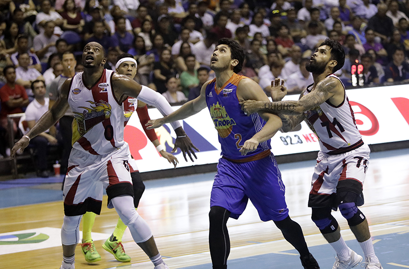 San Miguel breaks the tie, now leads series 2-1 over TNT