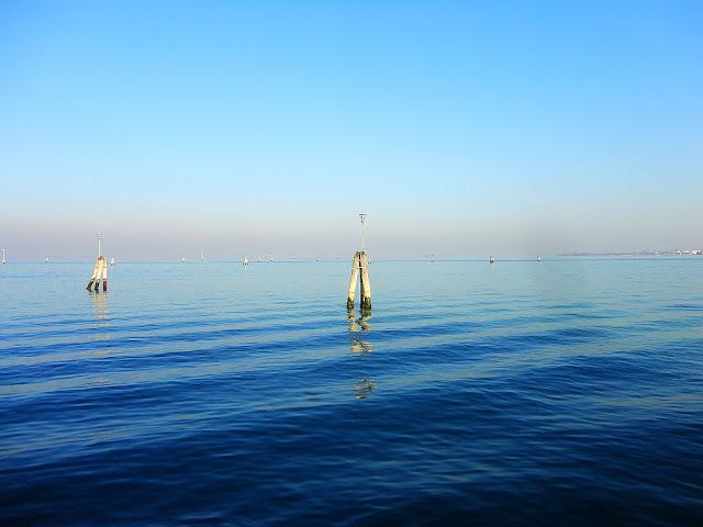Bricole, Benátky, plavební dráha