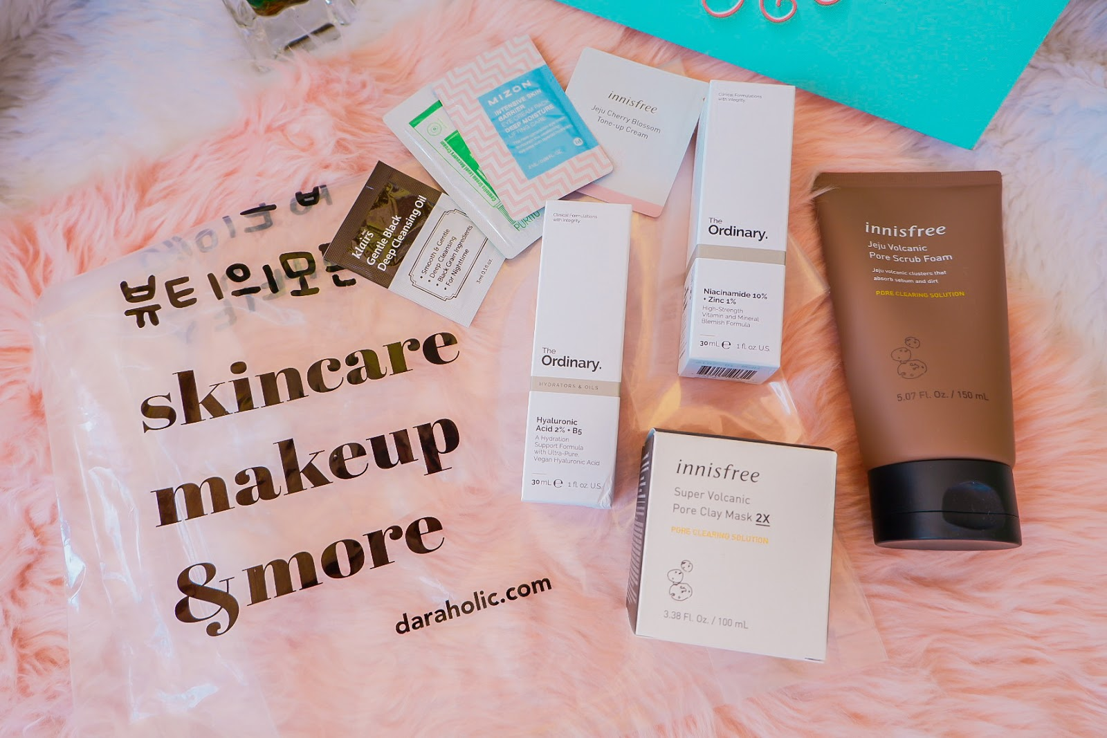 My First Dara Beauty Market Skincare Haul