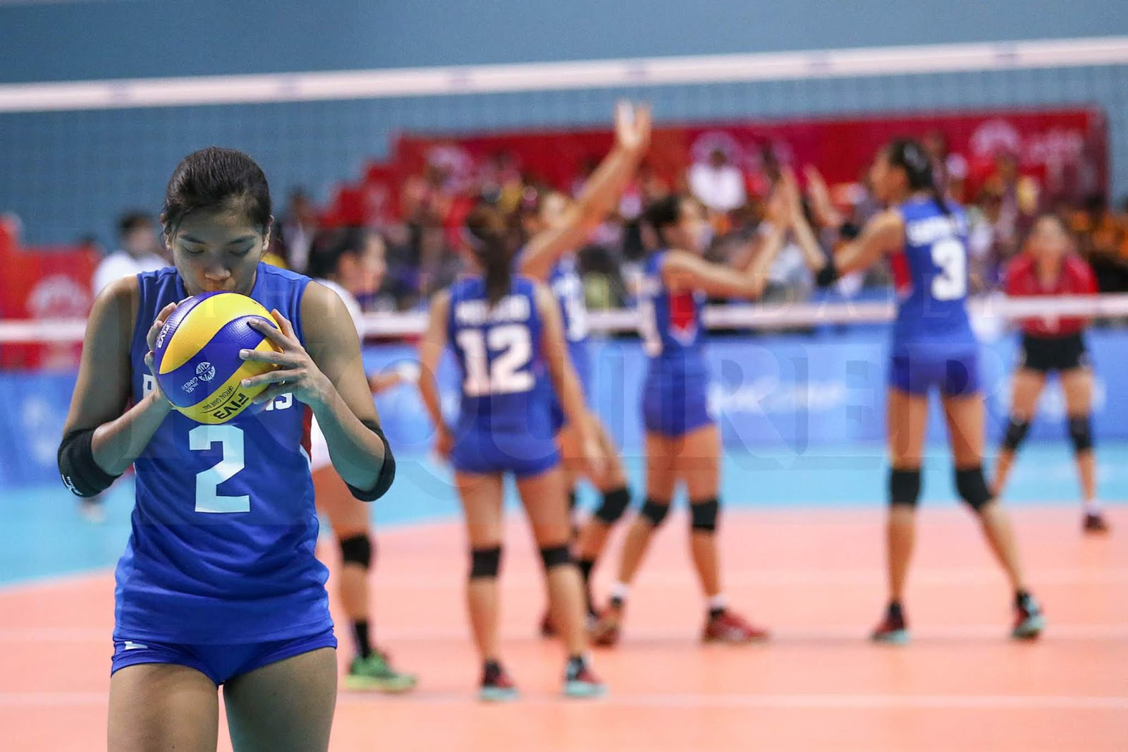 Philippines bows to Thailand in the 2018 Asian Games Women's Volleyball