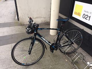 Stolen Bicycle - Merida Speeder 20