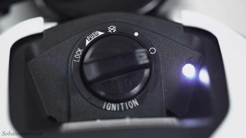 Fitur Keyless di Suzuki GSX-R150 bakalan bikin maling pusing tujuh keliling . .