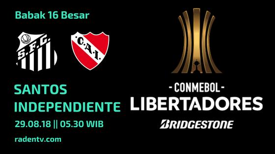 Streaming Santos vs Independiente