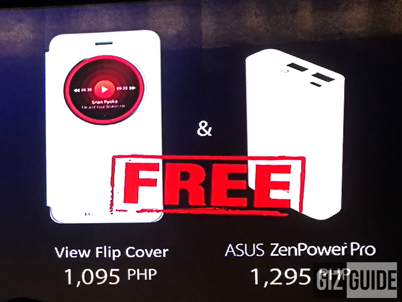 Asus View Flip Cover and ZenPower Pro