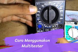 Cara Menggunakan Multitester