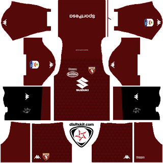Torino FC 2018 - 2019 Home Kit