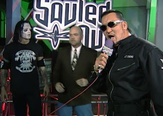 WCW Souled Out 2000 - Masahiro Chono randomly interrupted Vampiro's promo