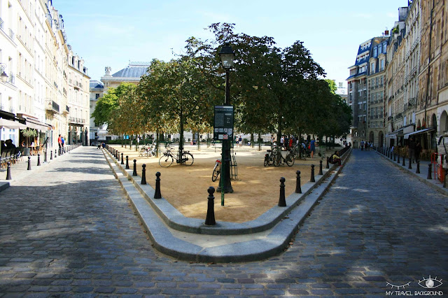 My Travel Background : #ParisPromenade : l'île de la Cité, la place Dauphine