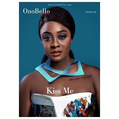 #BBNaija's Uriel in colourful shots for Onobello Magazine
