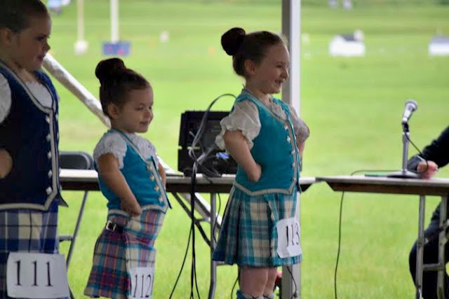 dancing at the Highland Games in Itasca, IL