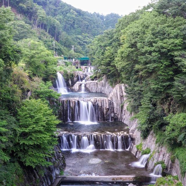 富士みち 田原の滝 桂川
