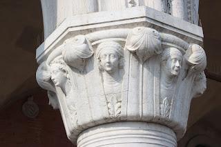 Detalles capiteles Palacio Ducal