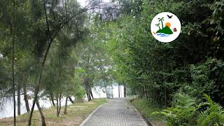 Danau Wisata Bandar Kayangan Lembah Sari