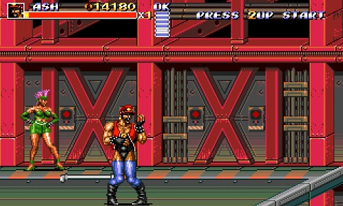 ash streets of rage 3