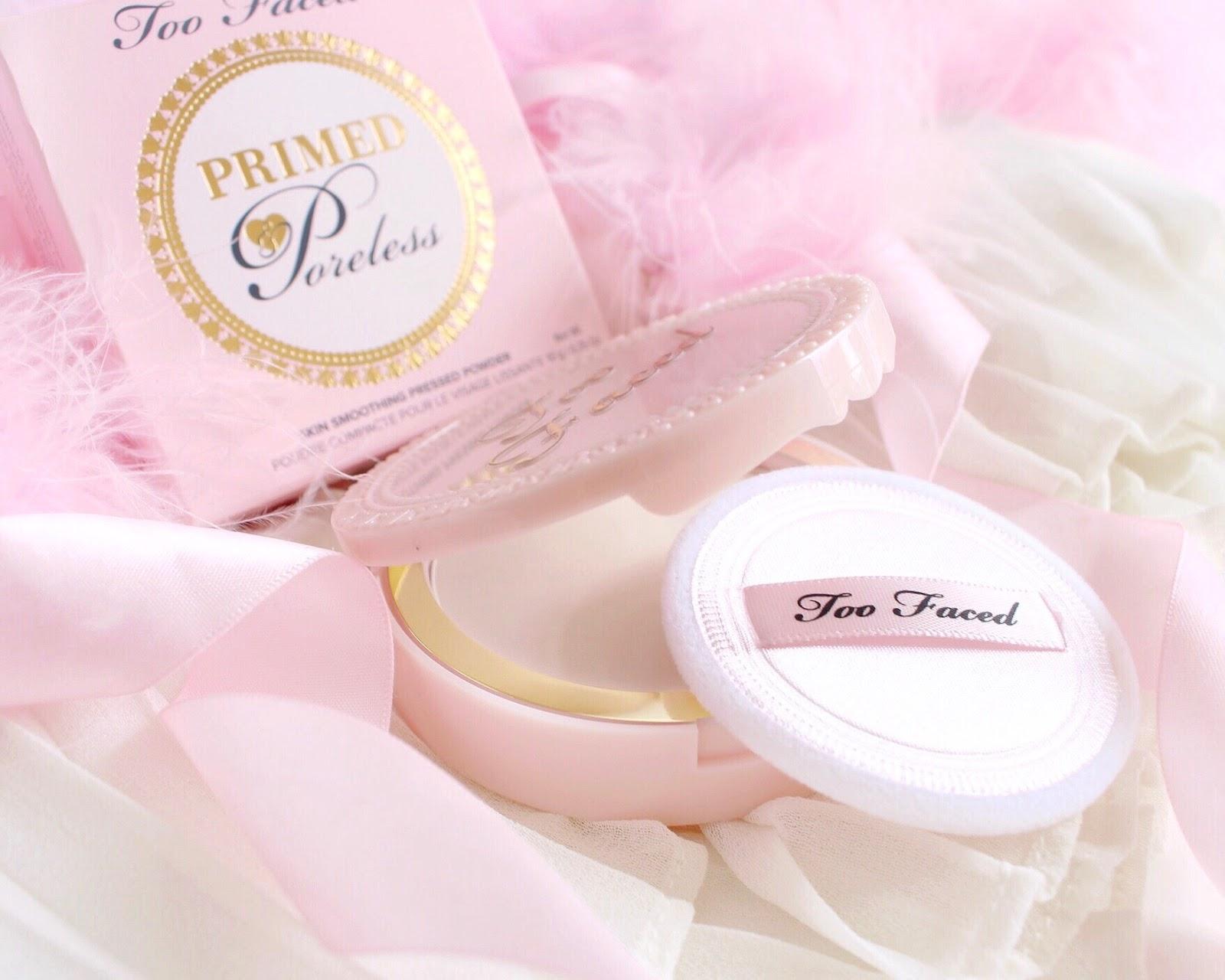 Princessy Makeup Splurge | Too Faced Primed & Poreless Powder